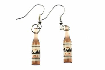 Beer Earrings Beer Bottles Miniblings Beer Earrings Drinks Vaald – Bild 1