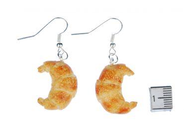 Croissant Ohrringe Hänger Miniblings Backwaren Bäcker Backen Frühstück Brot – Bild 3