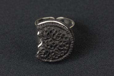 Biscuit Ring Biscuits Miniblings Cookie Double Chocolate Bite Cookie Dark – Bild 2