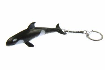 Orka Key Ring Miniblings Pendant Orca Killer Whale – Bild 1