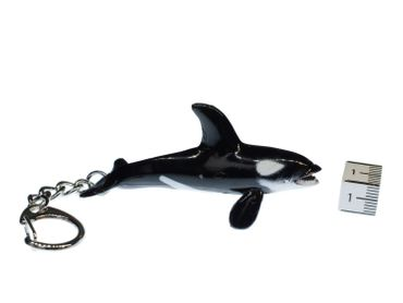 Orka Key Ring Miniblings Pendant Orca Killer Whale – Bild 3