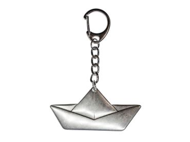 Paper Ship Sailing Ship Key Ring Miniblings Boat Origami Flat – Bild 2