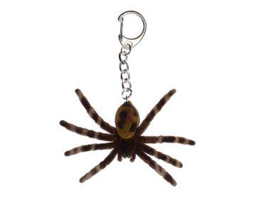 Spinne Schlüsselanhänger Miniblings Anhänger Vogelspinne Tarantel Halloween – Bild 1