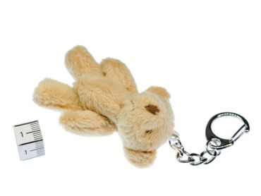 Teddy Key Ring Miniblings Pendant Key Ring Teddy Bear Plush – Bild 2