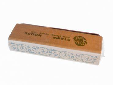 Stempel BLUME BLUMENRANKE Miniblings Stamp Scrapbook Stempeln Rand Borte 7cm – Bild 2