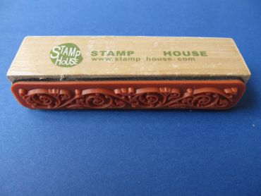 Stamp Flowers Ranke Miniblings Scrapbook Stamping Edge Trim 7cm – Bild 3