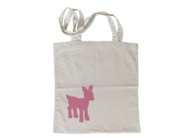 Cotton Carrier Bag Jute Bag Shopper Miniblings Deer Bambi – Bild 6