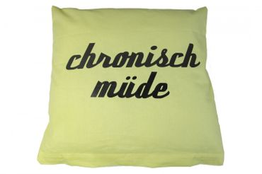 Decorative Cushion Pillow Chronic Tired Pillowcase 40X40cm Miniblings – Bild 7