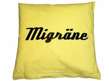 Decorative Cushion Pillow Sex Migraine Turning 40X40cm Miniblings Relationship Wendekissen – Bild 7