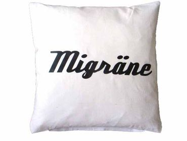 Decorative Cushion Pillow Sex Migraine Turning 40X40cm Miniblings Relationship Wendekissen – Bild 19