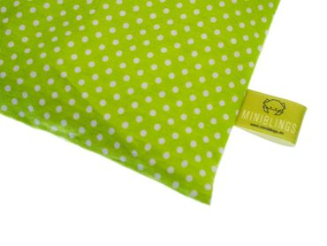 Herbal Pillow Cushion Health Miniblings 23X12cm Green Dots Polka Dots – Bild 1