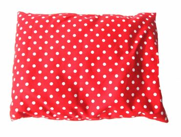 Herbal Pillow Cushion Health Miniblings 25X20cm Red Dots Polka Dots – Bild 2