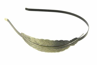 Deely Leaf Hair Circlet Romance Miniblings Hair Leafs Bronze Leaf