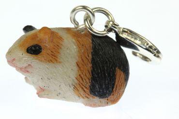 Meerschweinchen Guinea Pig Charm Zipper Pull Anhänger Bettelanhänger Miniblings – Bild 2