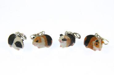 Meerschweinchen Guinea Pig Charm Zipper Pull Anhänger Bettelanhänger Miniblings – Bild 12