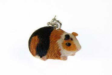 Meerschweinchen Guinea Pig Charm Zipper Pull Anhänger Bettelanhänger Miniblings – Bild 4