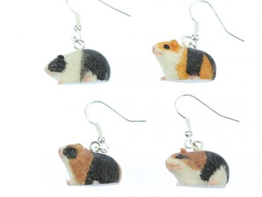 Guinea Pig Earrings Miniblings Guninea Pig Pet – Bild 4
