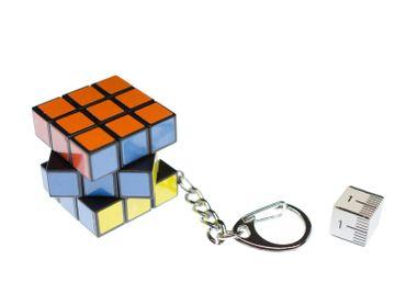 Zauberwürfel Schlüsselanhänger Miniblings Anhänger 80er Spiel Game Würfel Retro – Bild 2