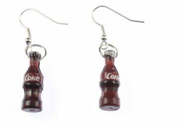 Cola Bottle Cola Earrings Bottle Miniblings Cola Lemonade – Bild 1