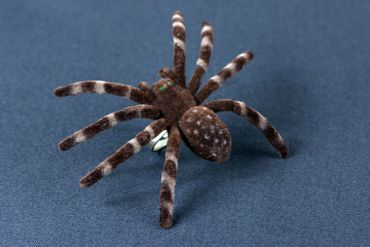 Spider Ring Large Tarantula Ring Miniblings Halloween animal horror pet XL – Bild 4
