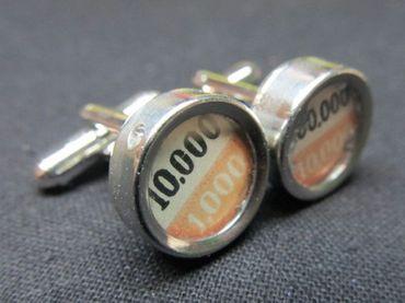 Zahlen 1.000 Manschettenknöpfe Schreibmaschinetaste Miniblings Vintage Potenz – Bild 1