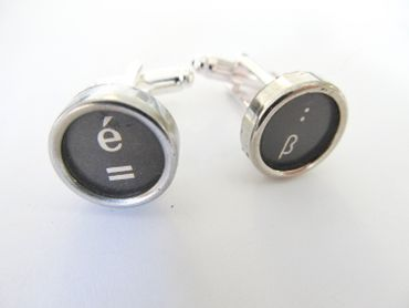 Equal Sign ß = Cuff Links Cufflinks Typewriter Keys Miniblings German S – Bild 3