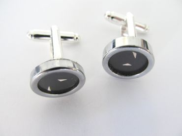 Apostrophe Accent Cuff Links Cufflinks Typewriter Keys Miniblings black – Bild 3