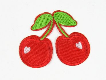 Cherry Patch Hotfix Iron On Application Motif Miniblings Cherry Garden Cherry 6X5cm – Bild 1