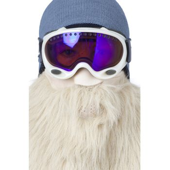 BEARDSKI ski mask Viking - blond – Bild 3
