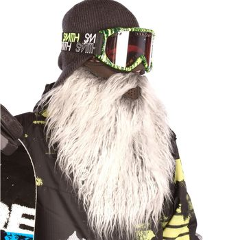 BEARDSKI ski mask Biker - grey – Bild 5