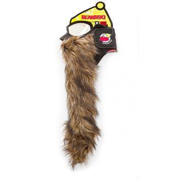 BEARDSKI ski mask Big Country - Long brown beard – Bild 1