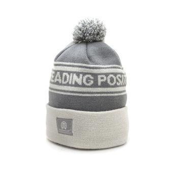 RASTACLAT Fold Over Beanie Plaster - charcoal/grey – Bild 1