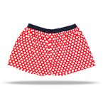 UNABUX Boxer Short Red Dot - red with white dots – Bild 2