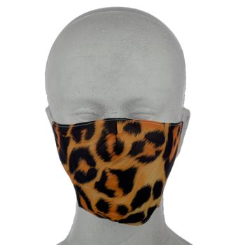 "NIFTY Reusable face mask ""Animal Print"" - large – Bild 2"
