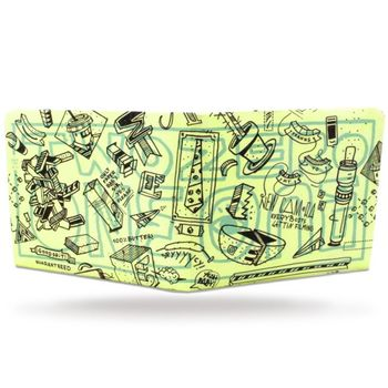 PAPERWALLET Tyvek Wallet Art Series 2 - ELNA – Bild 2