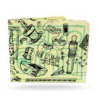 PAPERWALLET Tyvek Wallet Art Series 2 - ELNA – Bild 1
