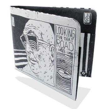 PAPERWALLET Tyvek Wallet Art Series 3 - Broken Fingaz – Bild 1