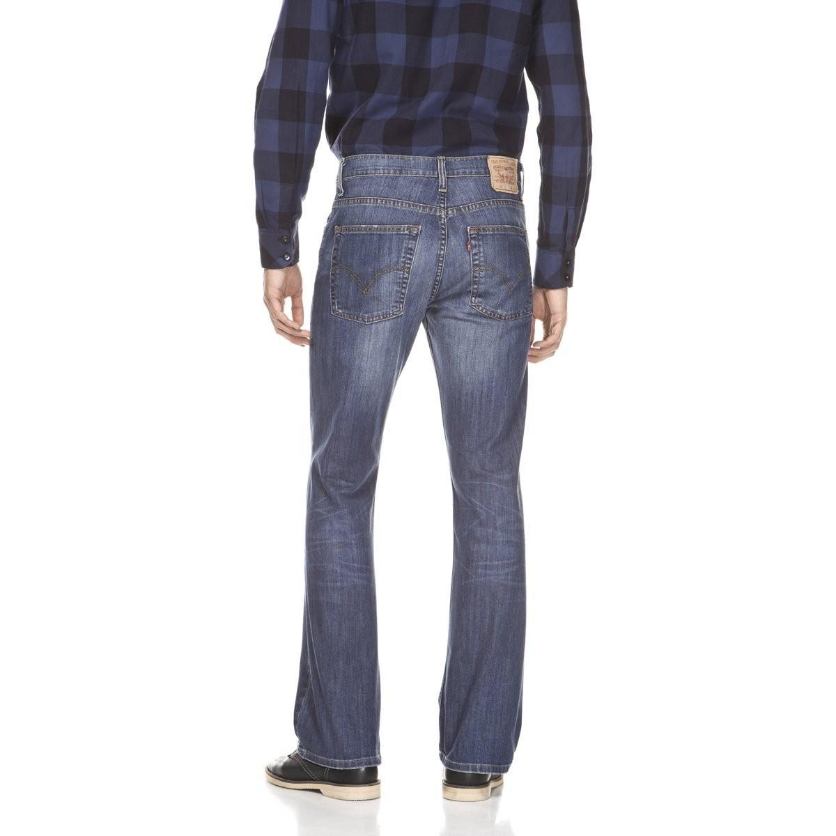 Levis® Herren-Jeans 527 - Low Bootcut - Blau