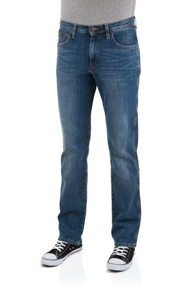 Wrangler Herren Jeans Arizona Stretch - Straight Fit - Canyon Blue
