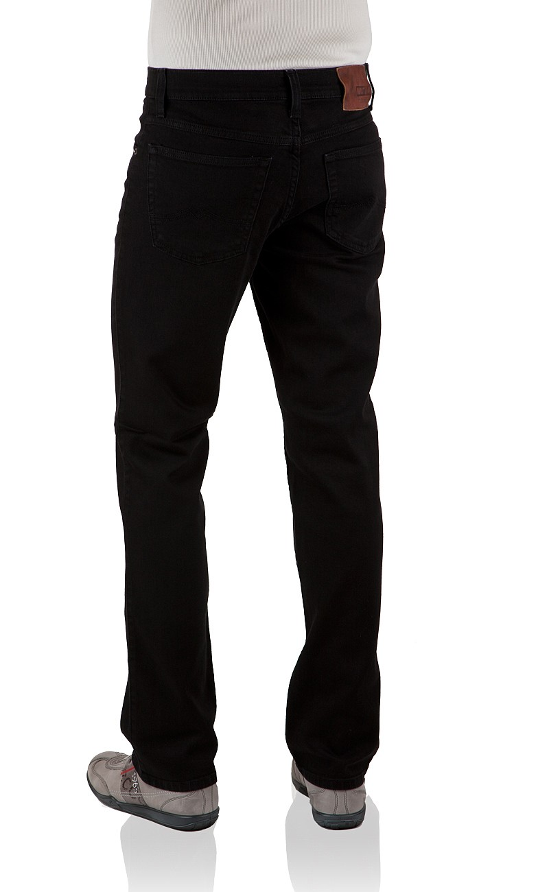 Mustang Herren Jeans Tramper - Slim Fit - Midnight Black