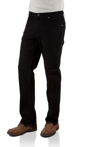 Mustang Herren Jeans Big Sur Stretch - Regular Fit - Midnight Black