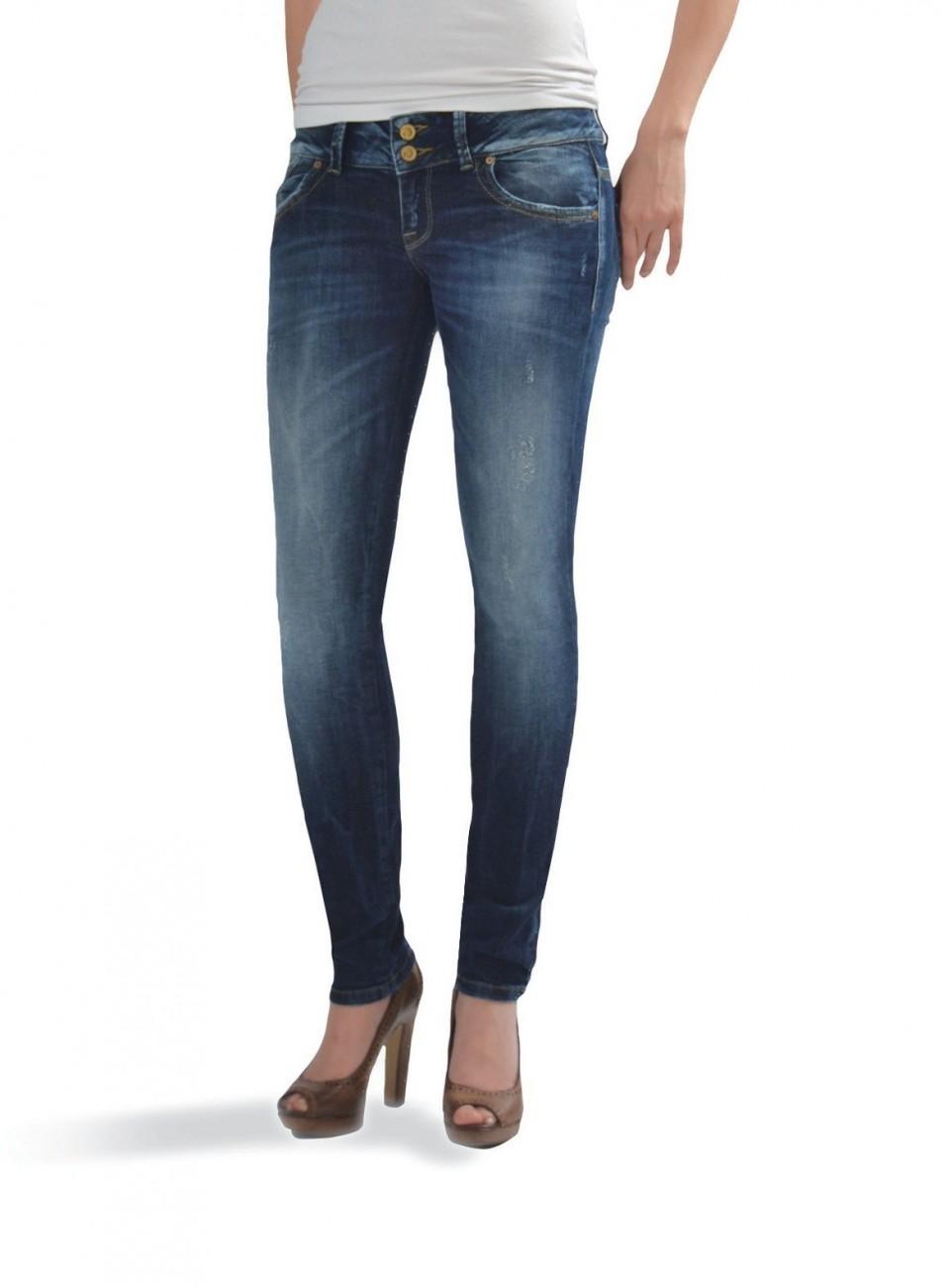 LTB Damen Jeans Molly Super Slim Oxford Wash