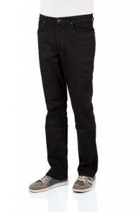 Lee Herren Jeans Brooklyn Straight - Regular Fit - Clean Black