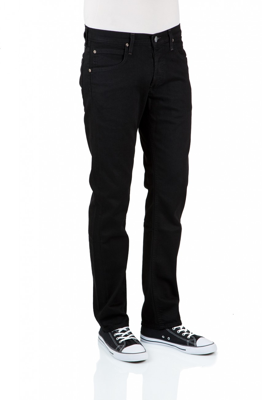 Lee Herren Jeans Daren - Regular Fit - Clean Black