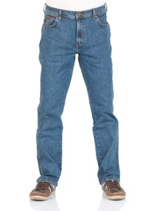 Wrangler Texas Jeans New Men's Regular Fit Black Blue Darkstone Stonewash Denim