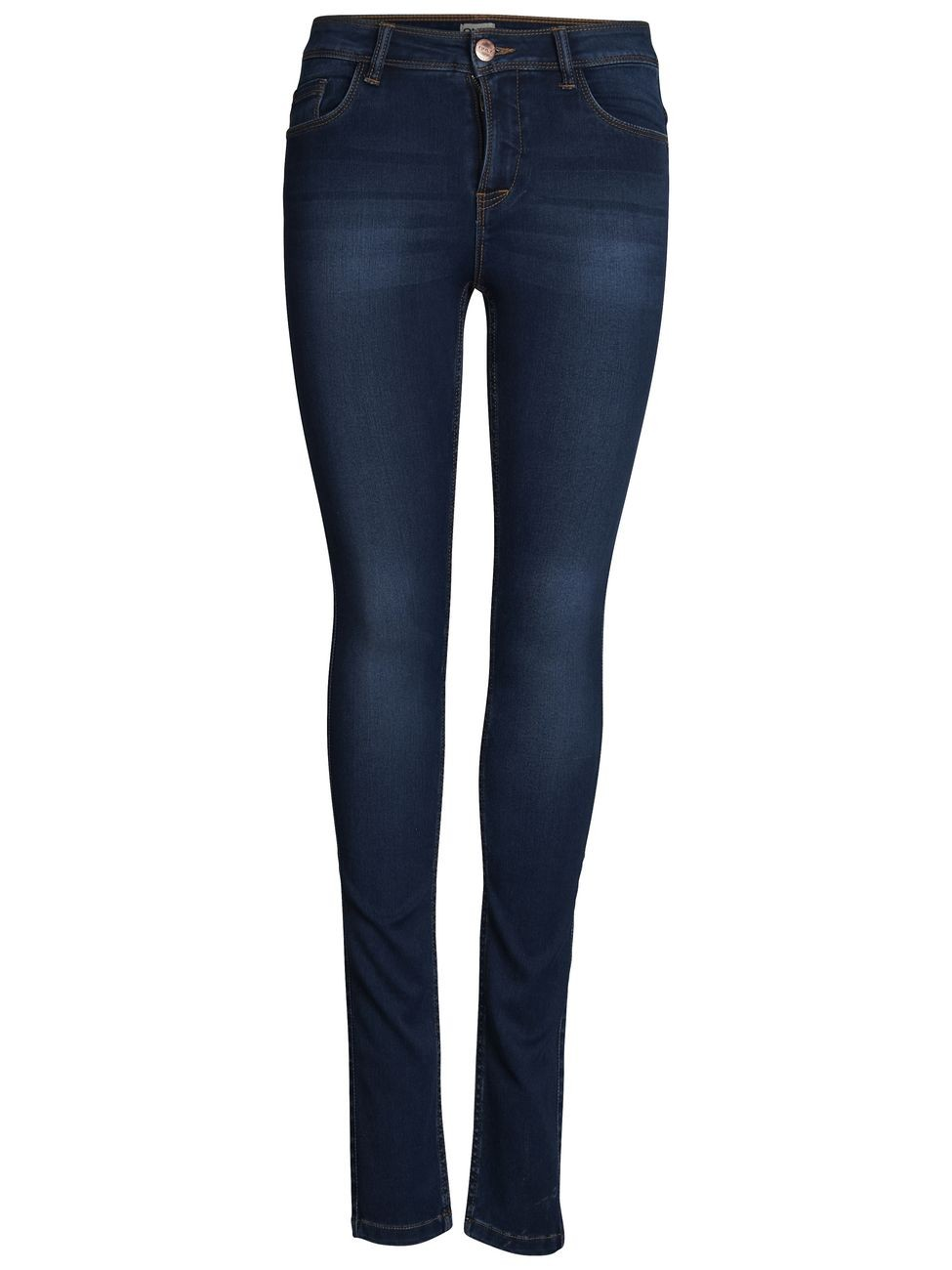 Only Damen Jeans Ultimate Skinny - Slim Fit - Dark Blue Denim