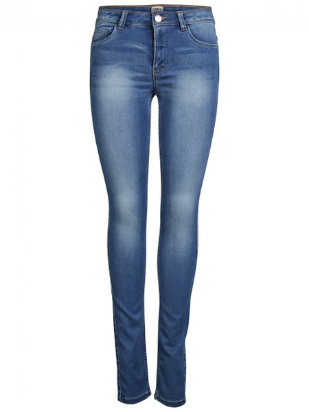 Only Damen Jeans Ultimate Skinny - Slim Fit - Medium Blue