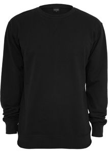 Urban Classics Herren Light FLeece Crewneck - Regular Fit