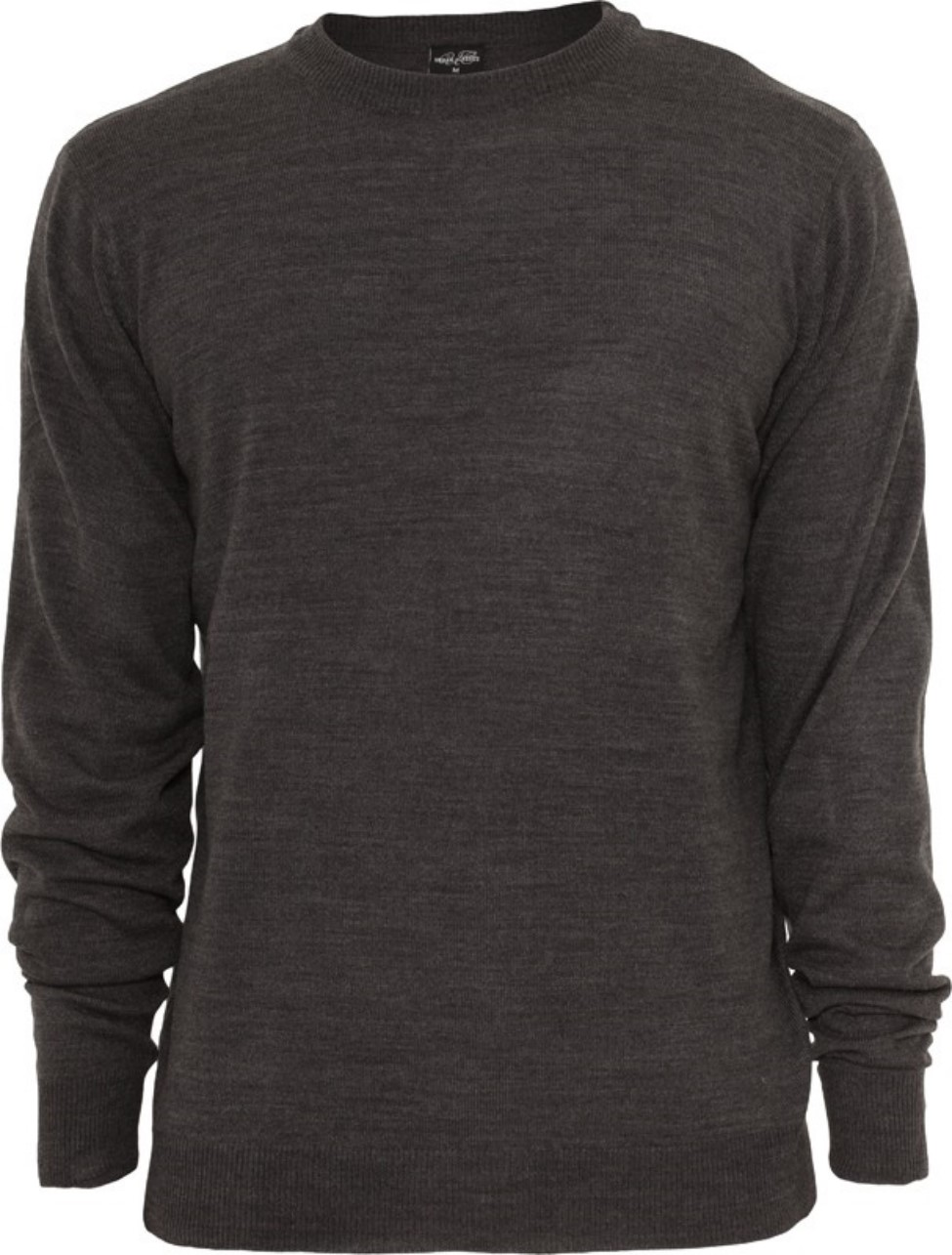 Urban Classics Herren Sweatshirt Knitted Crewneck - Regular Fit