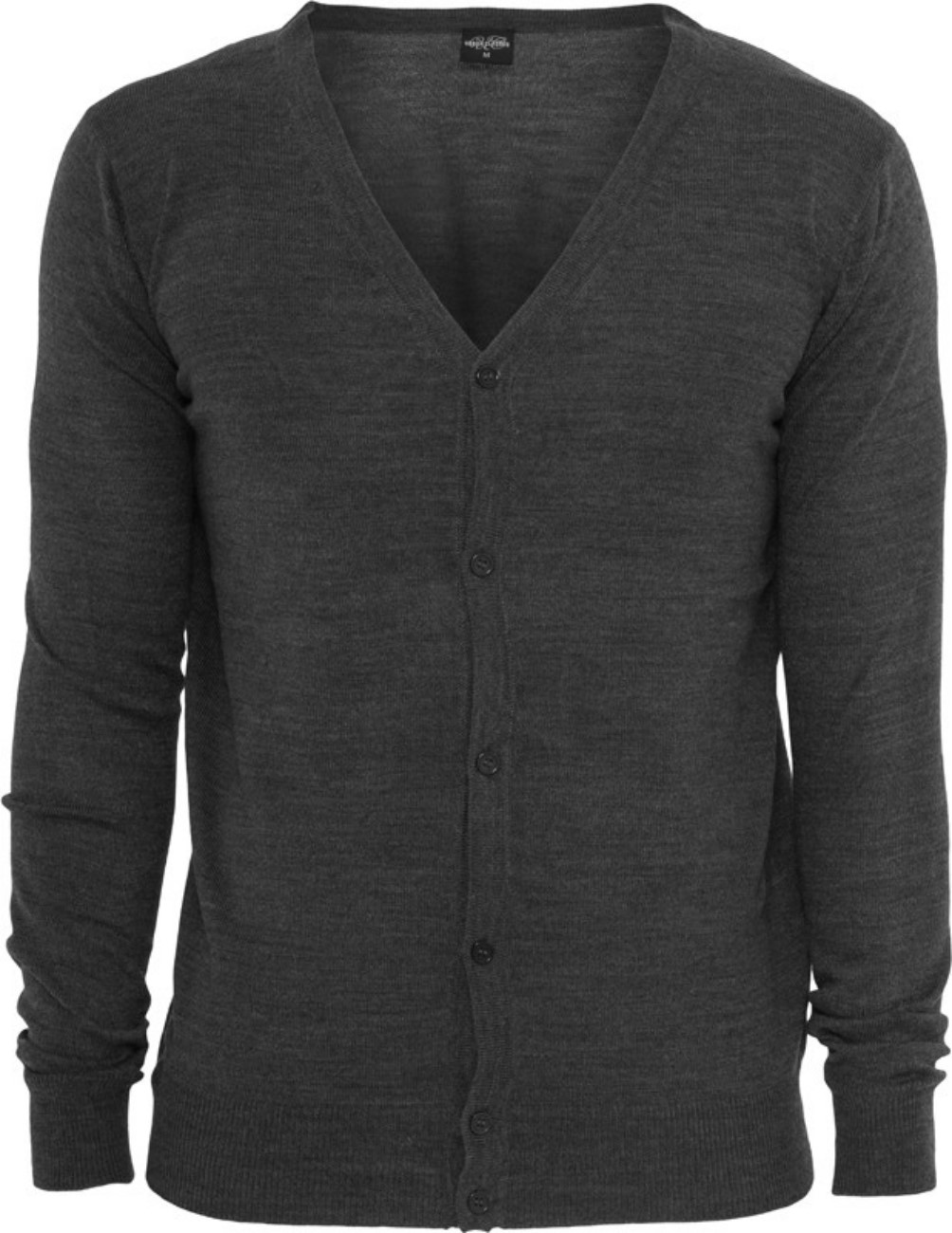 Urban Classics Herren Strickjacke Knitted Cardigan - Regular Fit